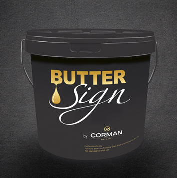 Corman butter sign